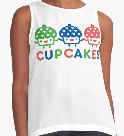 Cupcake Fun primary Contrast Tank