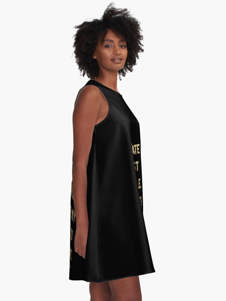 Alternate view of Blake Moran Quote A-Line Dress