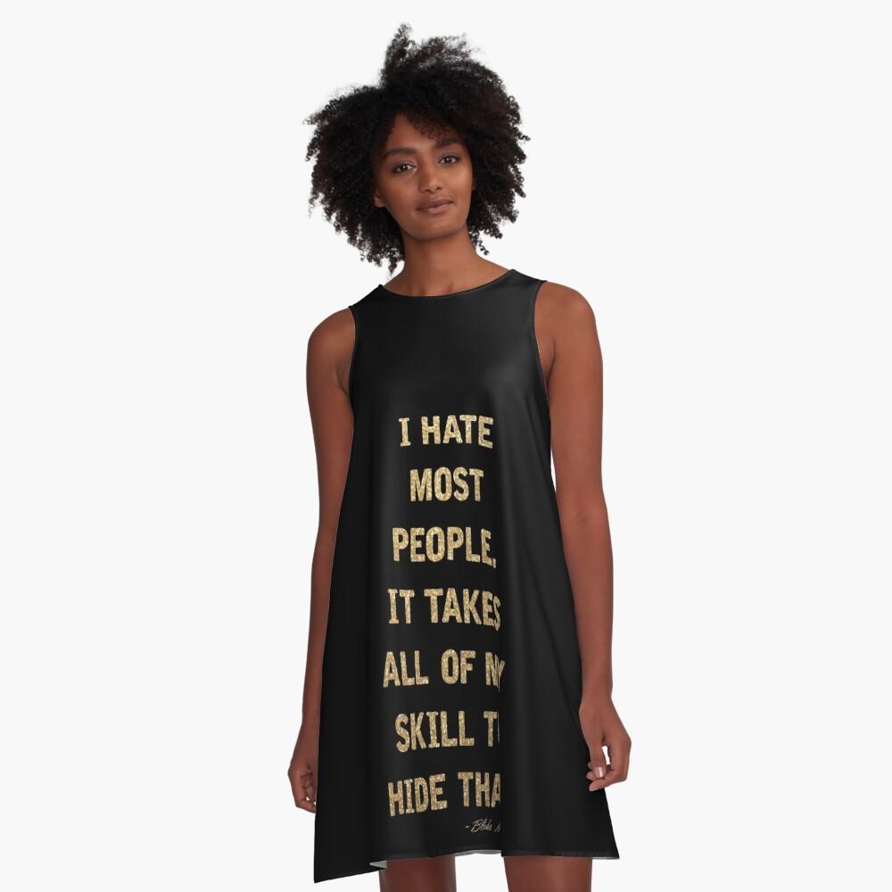 Blake Moran Quote A-Line Dress
