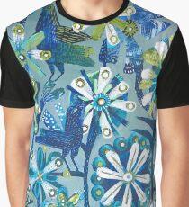 Blue birds Graphic T-Shirt