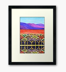 Perfect Pastels - Reflections 3 Framed Print
