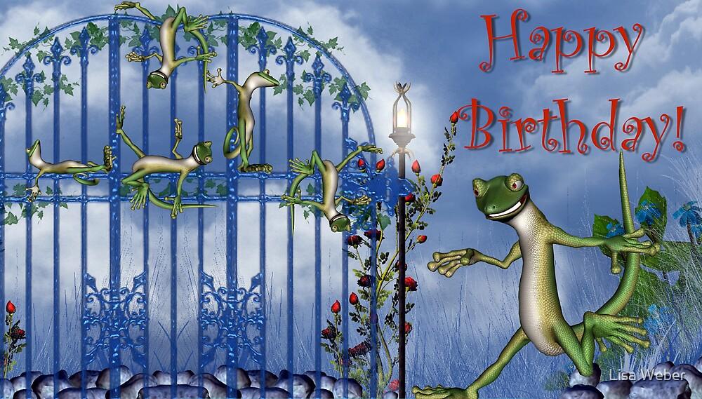 Happy Birthday! by Lisa  Weber