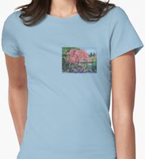 Candy Tree Womens Fitted T-Shirt