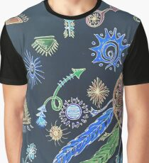 Awesome Boho watercolor! negative Graphic T-Shirt