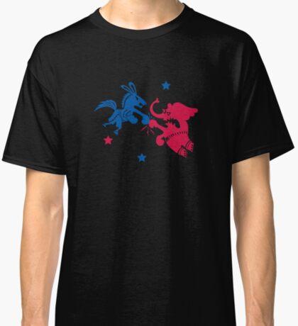 Political Fight t shirt Classic T-Shirt