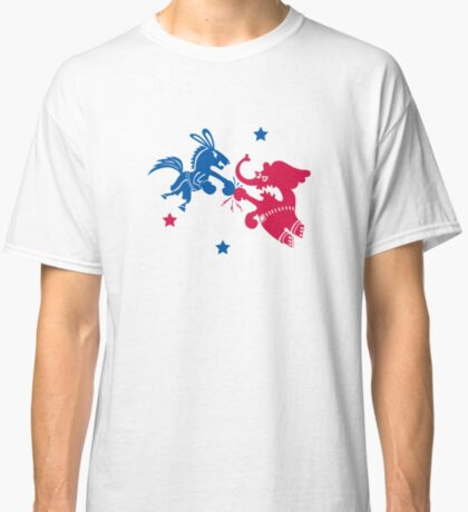 Political Fight t shirt Classic T-Shirt