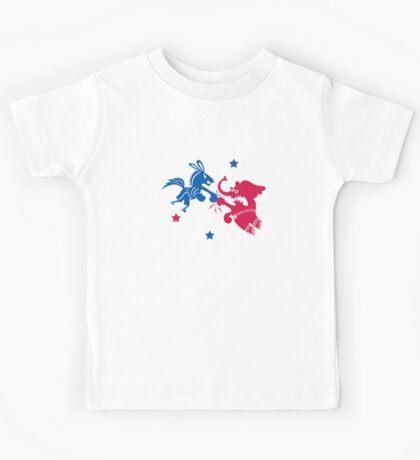 Political Fight t shirt Kids Clothes