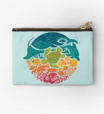 Bolso de mano Arco iris acuático (azul claro)