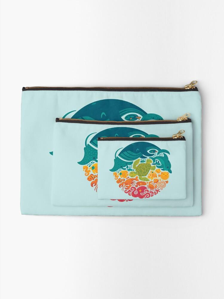 Vista alternativa de Bolsos de mano Arco iris acuático (azul claro)