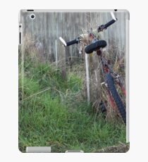 Abandoned  in overgrowing  grass iPad Case/Skin