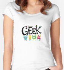 Geek Monsters Women's Fitted Scoop T-Shirt