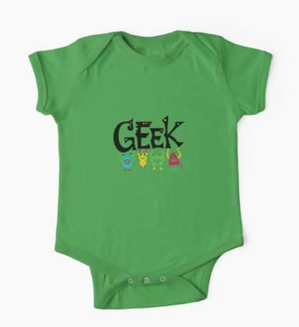 Geek Monsters Kids Clothes