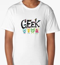 Geek Monsters Long T-Shirt