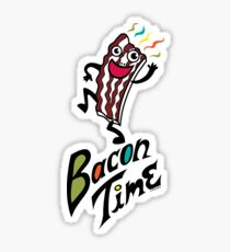 Bacon Time Sticker