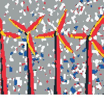 Wind Turbines by MoMoJaJa