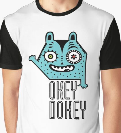 Okey Dokey Monster Graphic T-Shirt