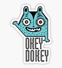 Okey Dokey Monster Sticker