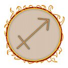 Sagittarius Symbol by ToxicMaiden