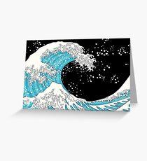Kanagawa Wave Greeting Card