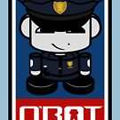 Police HERO'BOT Toy Robot 1.1 by Carbon-Fibre Media