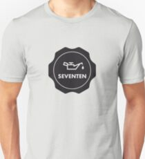 SEVENTEN 710 oil cap Unisex T-Shirt
