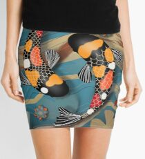 Koi Watergarden Mini Skirt