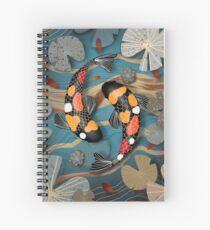 Koi Watergarden Spiral Notebook