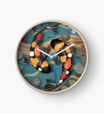 Koi Watergarden Clock
