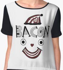Bacon Face Chiffon Top