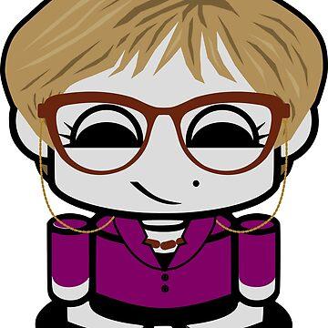 HERO'BOT Librarian Mx. Alexandria by carbonfibreme