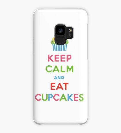 Keep Calm and Eat Cupcakes 5  Case/Skin for Samsung Galaxy