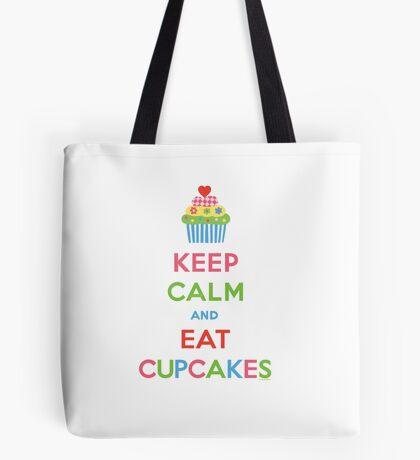 Keep Calm and Eat Cupcakes 5  Tote Bag