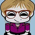 Librarian HERO'BOT Toy Robot 1.0 by Carbon-Fibre Media