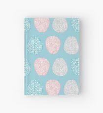 Cuaderno de tapa dura Brainy Pastel Pattern (Awesome Pastel Brains)