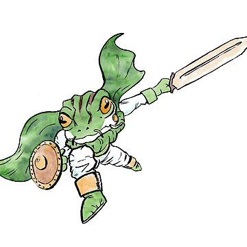 Frog from Chrono Trigger by Kite4
