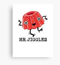 Mr Jiggles - Jello Canvas Print