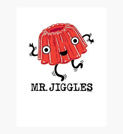 Mr Jiggles - Jello Photographic Print