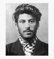 Young Stalin Photographic Print