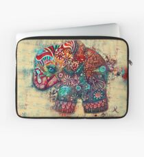 Vintage Elephant Laptop Sleeve