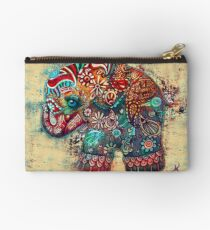 Vintage Elephant Studio Pouch