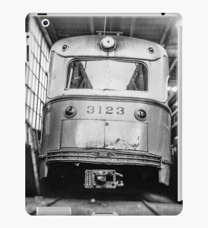 Vintage Streetcar Trolley 1219 iPad Case/Skin