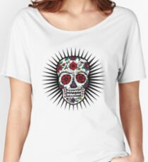 Sugar Skull two Women's Relaxed Fit T-Shirt