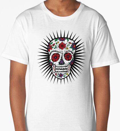 Sugar Skull two Long T-Shirt