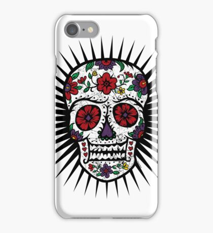 Sugar Skull two iPhone Case/Skin