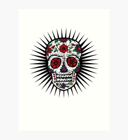 Sugar Skull two Art Print