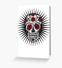 Sugar Skull two Greeting Card