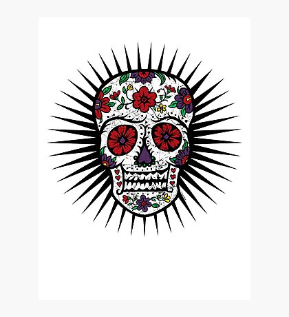 Sugar Skull two Photographic Print