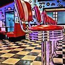 Retro Diner by Riggzy
