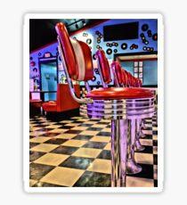 Retro Diner Sticker