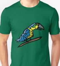 Mysterious Macaw Unisex T-Shirt